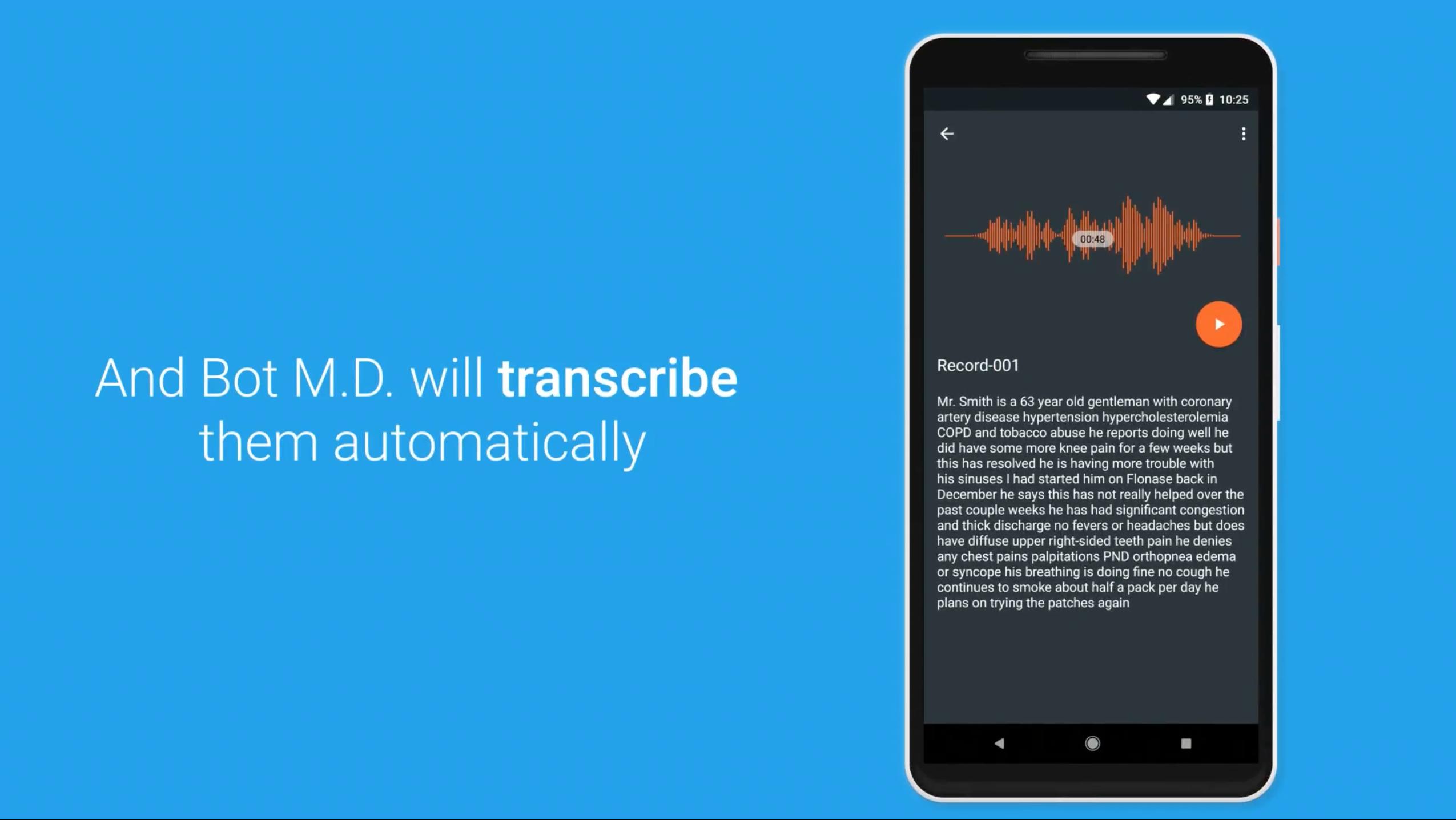 BotMD transcription