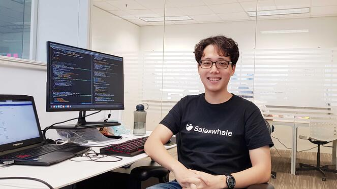 Lim Daekoon Saleswhale intern