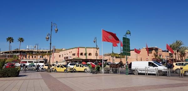 Marrakesh traffic