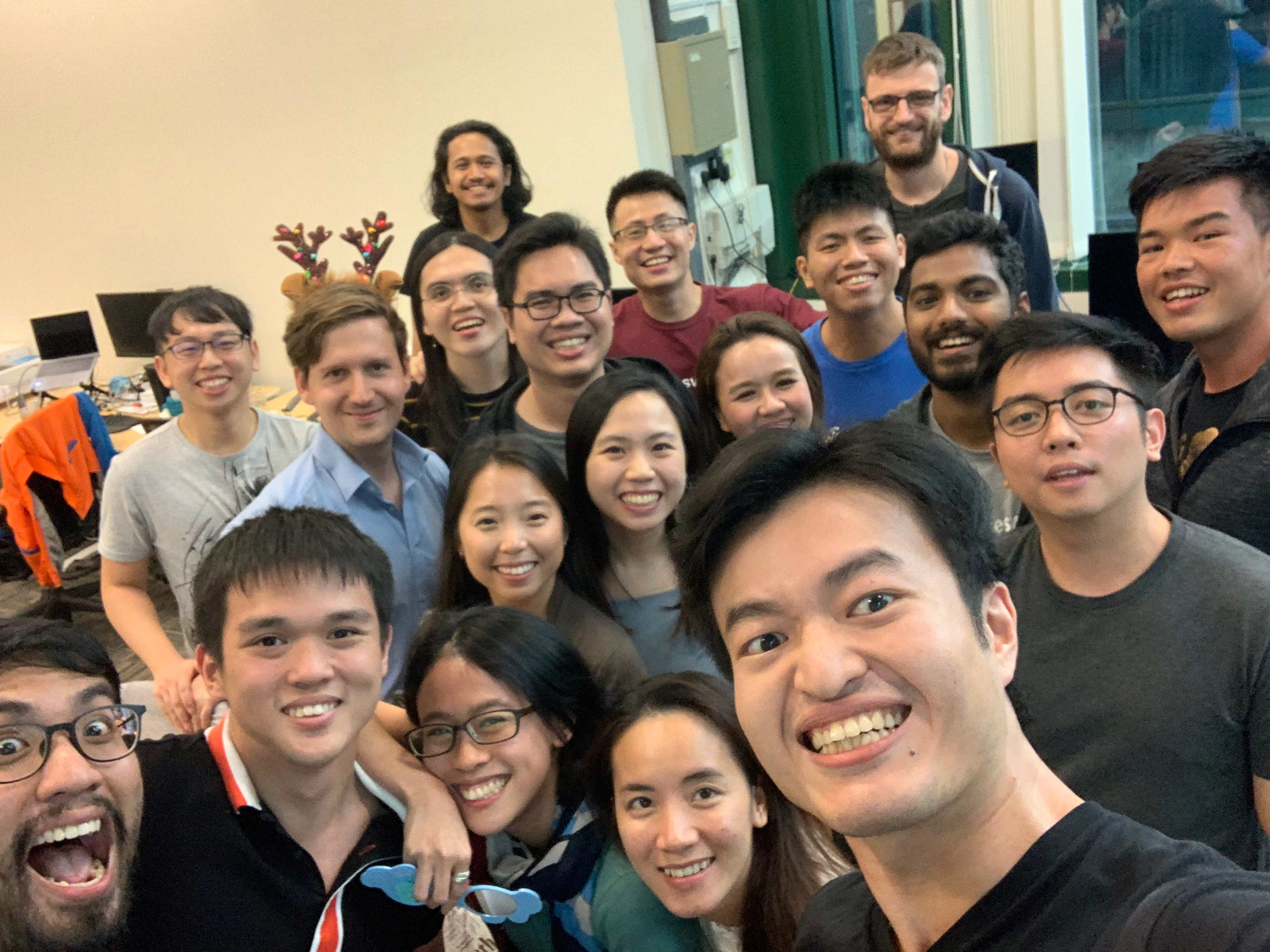 Team Saleswhale Office Christmas Party 2018