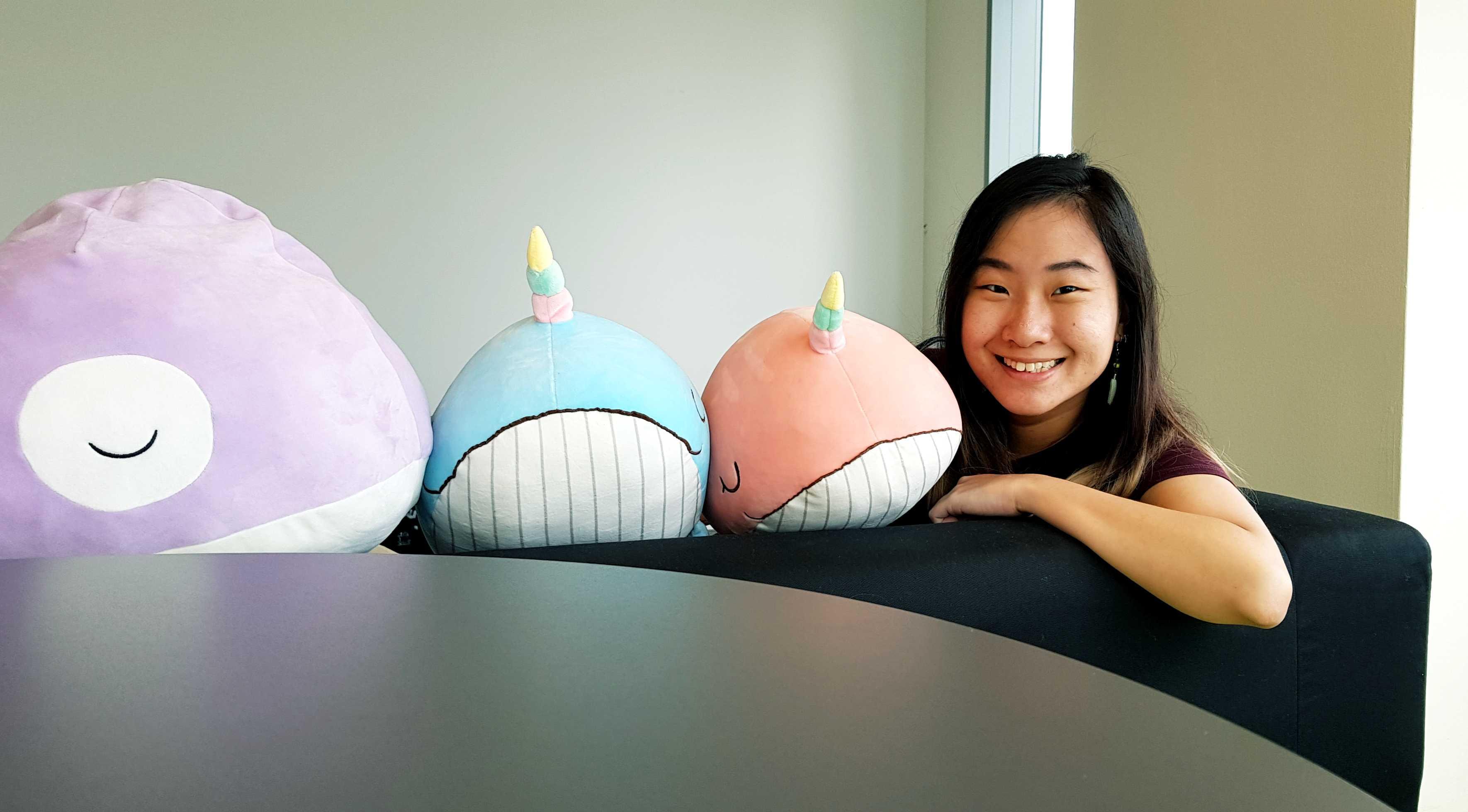 Trixie Tan Saleswhale intern